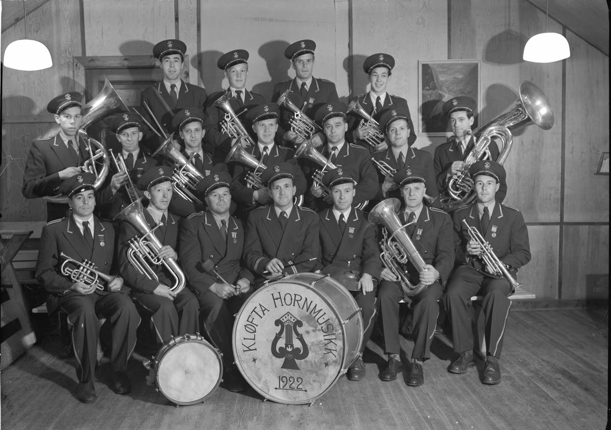Kløfta Hornmusikk - stiftet i 1922.