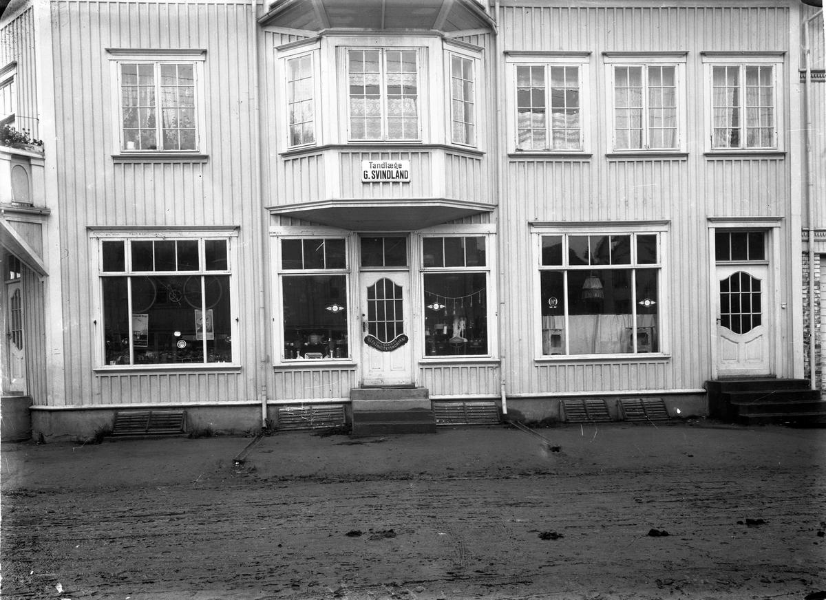 """Svindlandgården i Sundet. Lå der som det i dag er """"Miljøgate""""."""