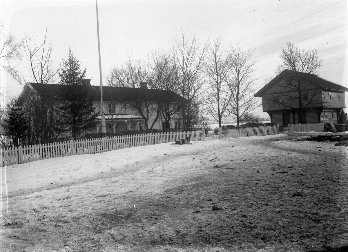 Anton Haga, Haga, gård