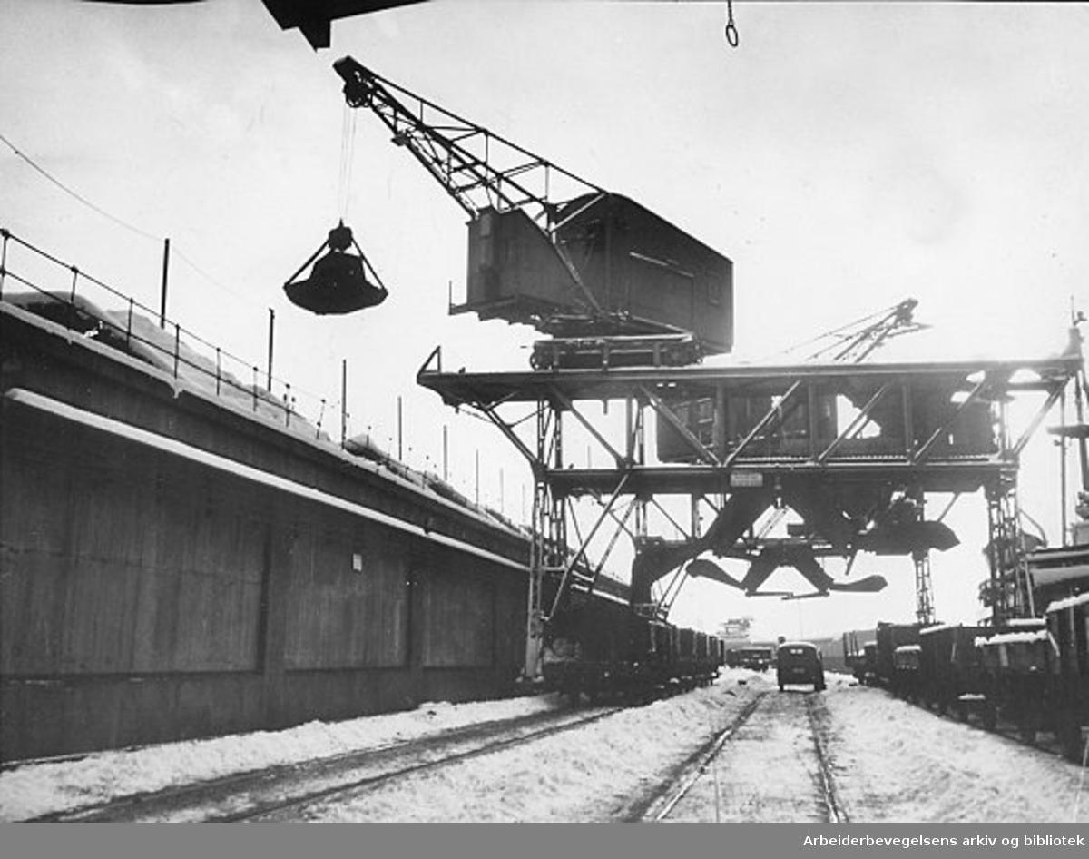 Oslo havn, september 1954