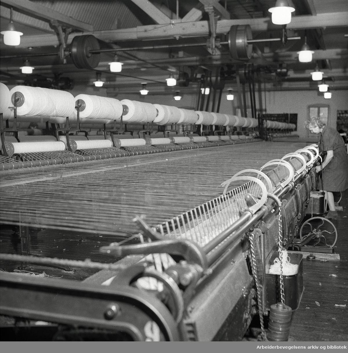 Frysja Ullvarefabrikk, .desember 1948
