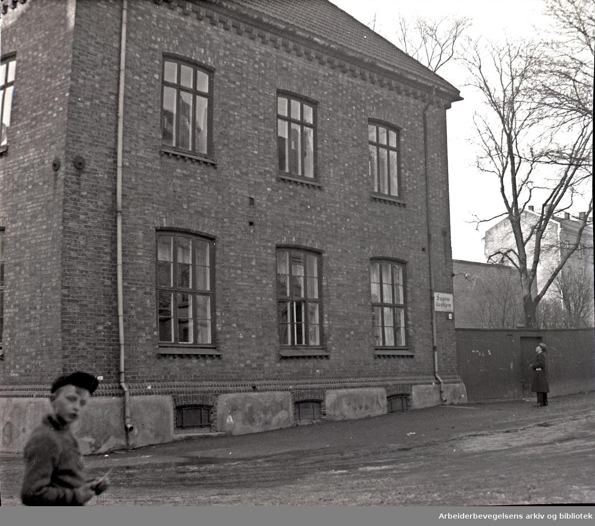 Sagene Daghjem i Østgårdsgate 4,.1930-35