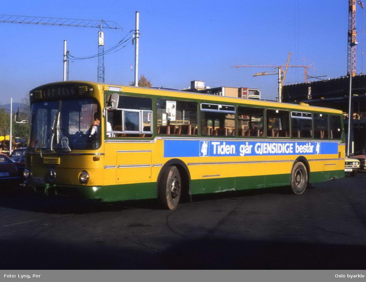 Busser, Ing. M.O. Schøyens Bilcentraler (SBC) buss.