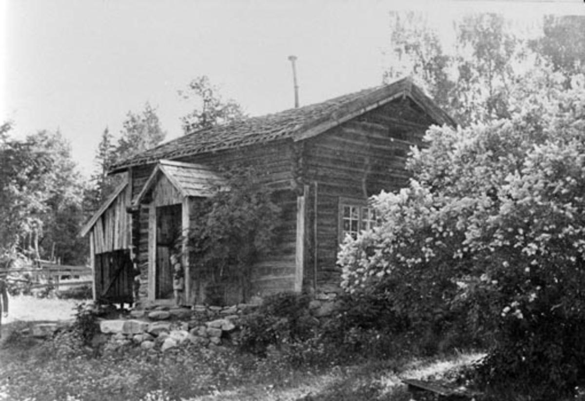 Eksteriør, husmannsplass, Skarderudstua, Furnes. Nå på Hedmarksmuseet.T,