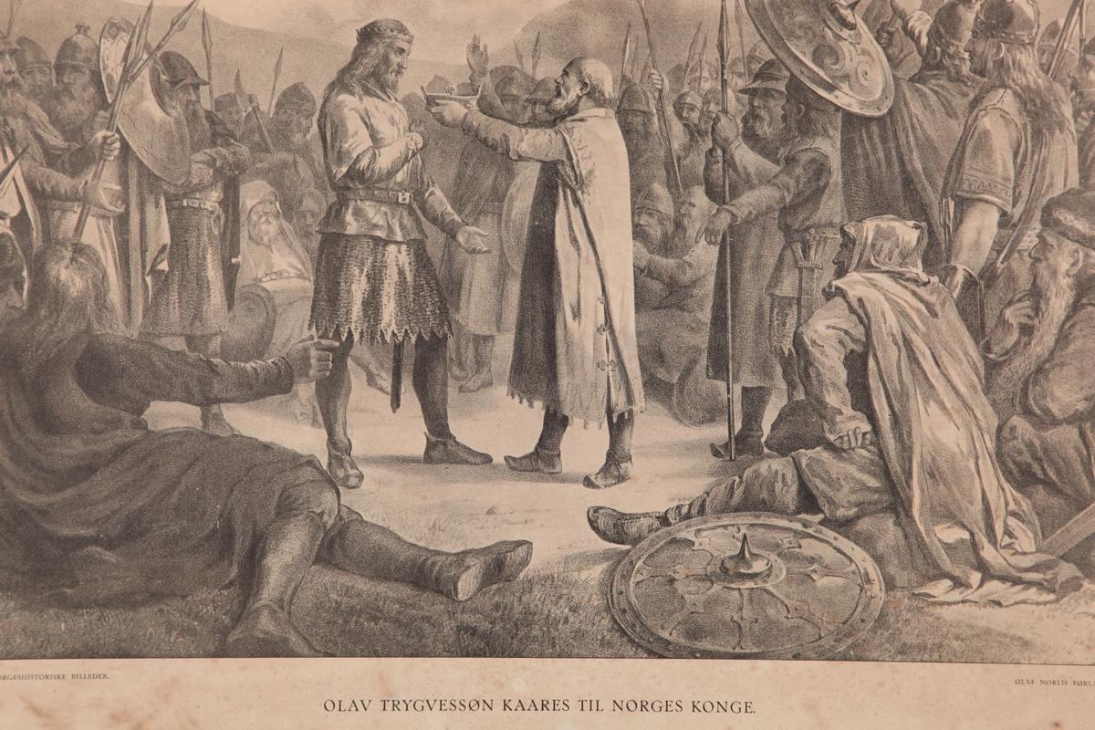 Olav Trygvessøn kaares til Norges Konge