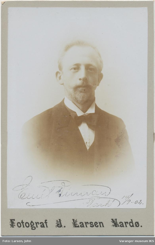 Portrett, Anton Emil Vinnan, 1904