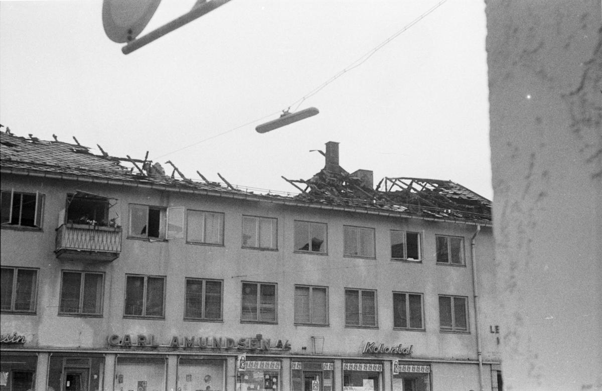 Amundsengården brannskadet