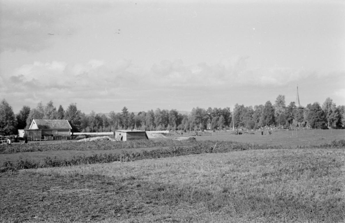 Bilde tatt mot kirkegården fra sørøst