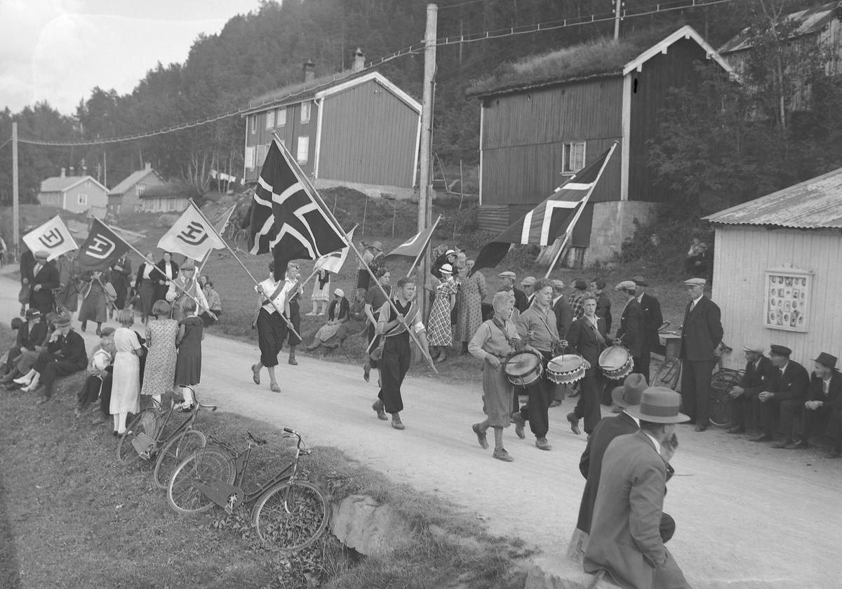 Unge Høyres stevne i Surnadal.