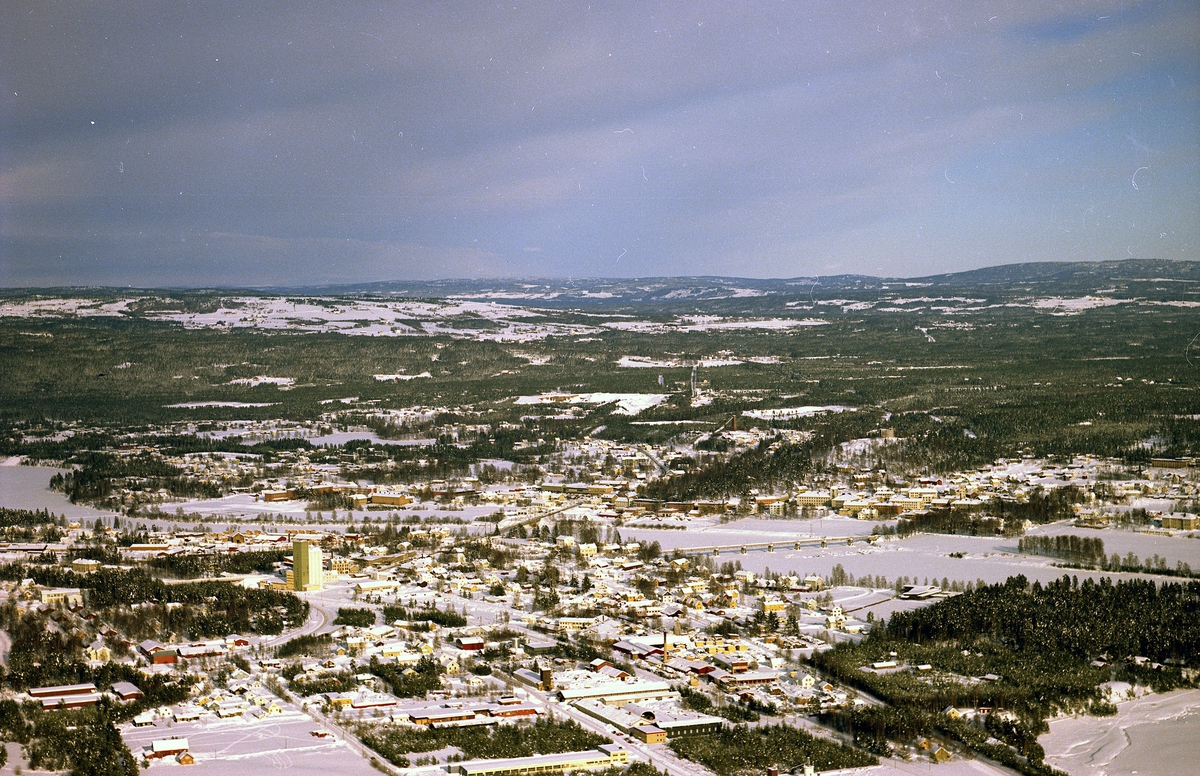 Elverum, vinter