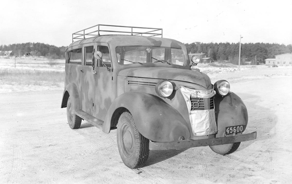Transportbil på F 2