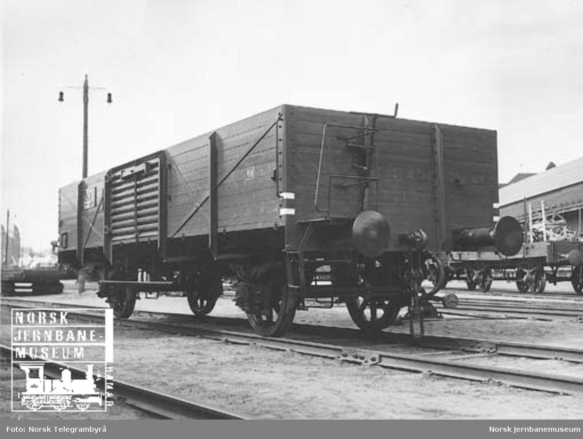 NSB godsvogn litra L4 nr. 50312