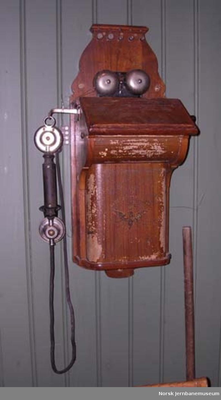 Veggtelefonapparat
