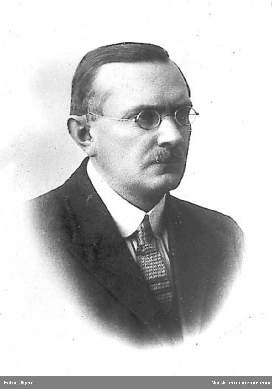 Portrett av generaldirektør Lars Rasmussen