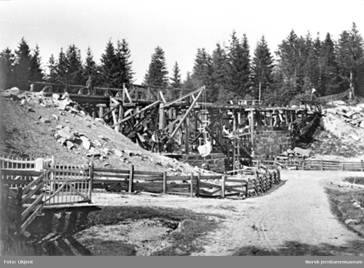 Ombygging av Frogner bru (vegundergang) i 1865