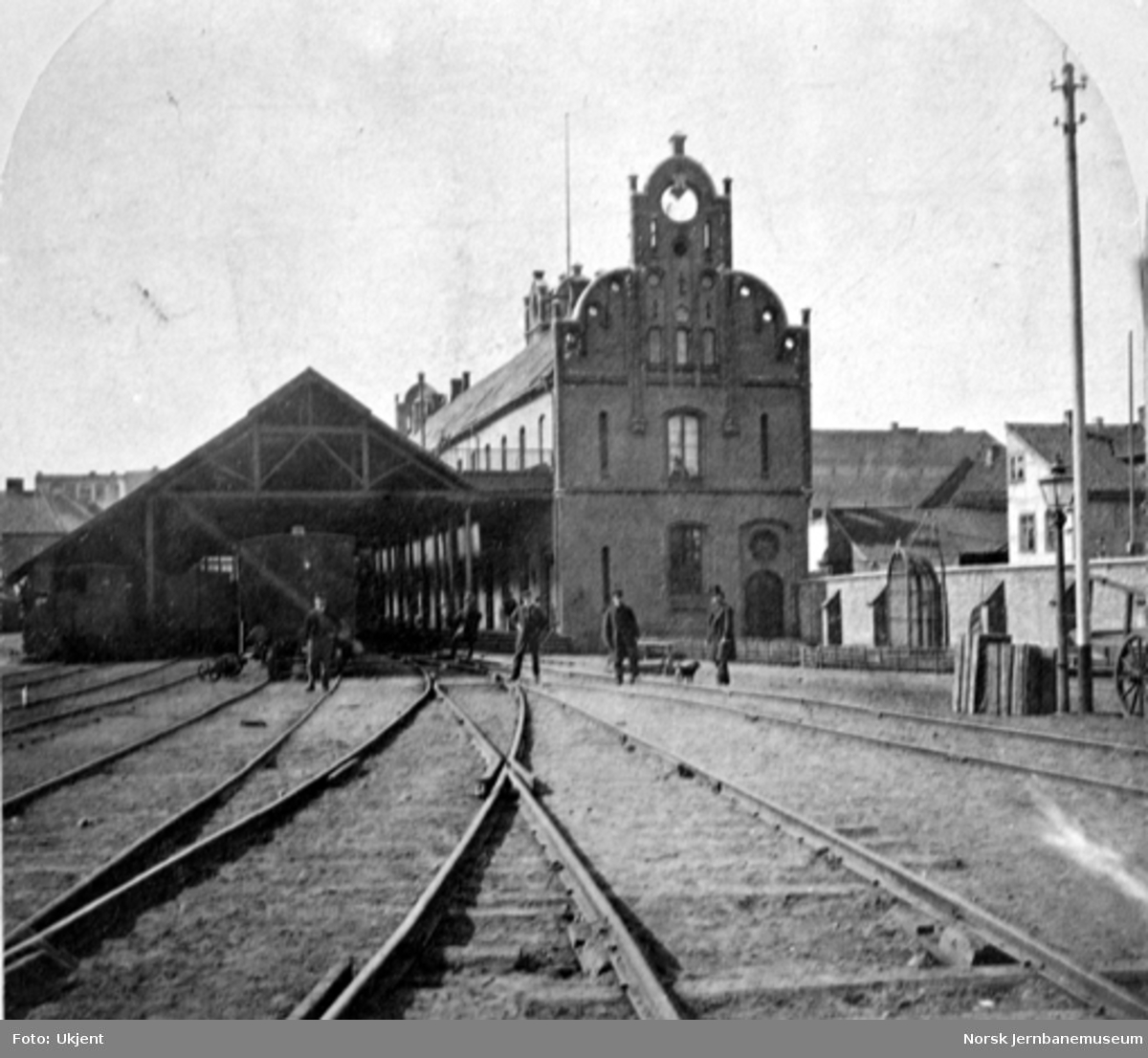 Den gamle toghallen på Oslo Ø