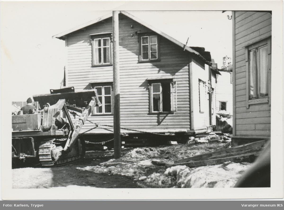 Flytting av hus i Skolegata