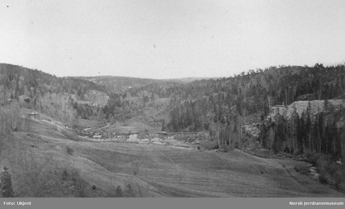 Ljansviadukten under bygging