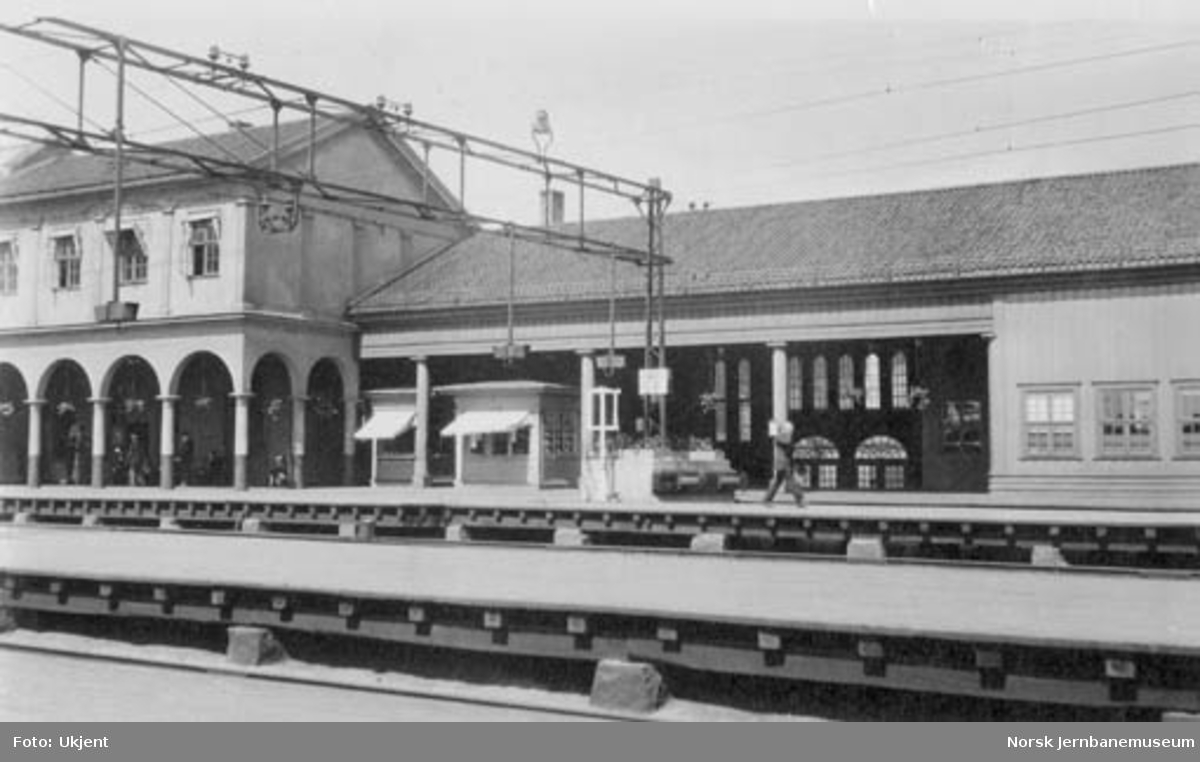 Hovedbanens lokaltogstasjon