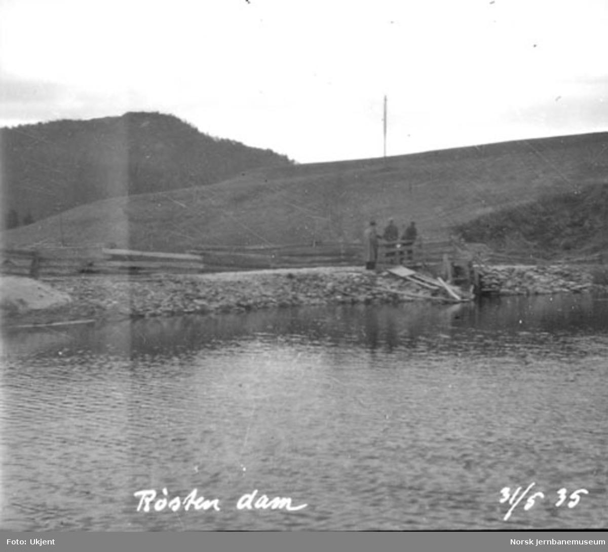 Røsten dam