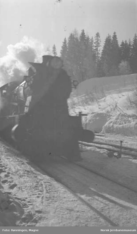 Vinterbilder fra Hovedbanen 5/5 : diverse bilder