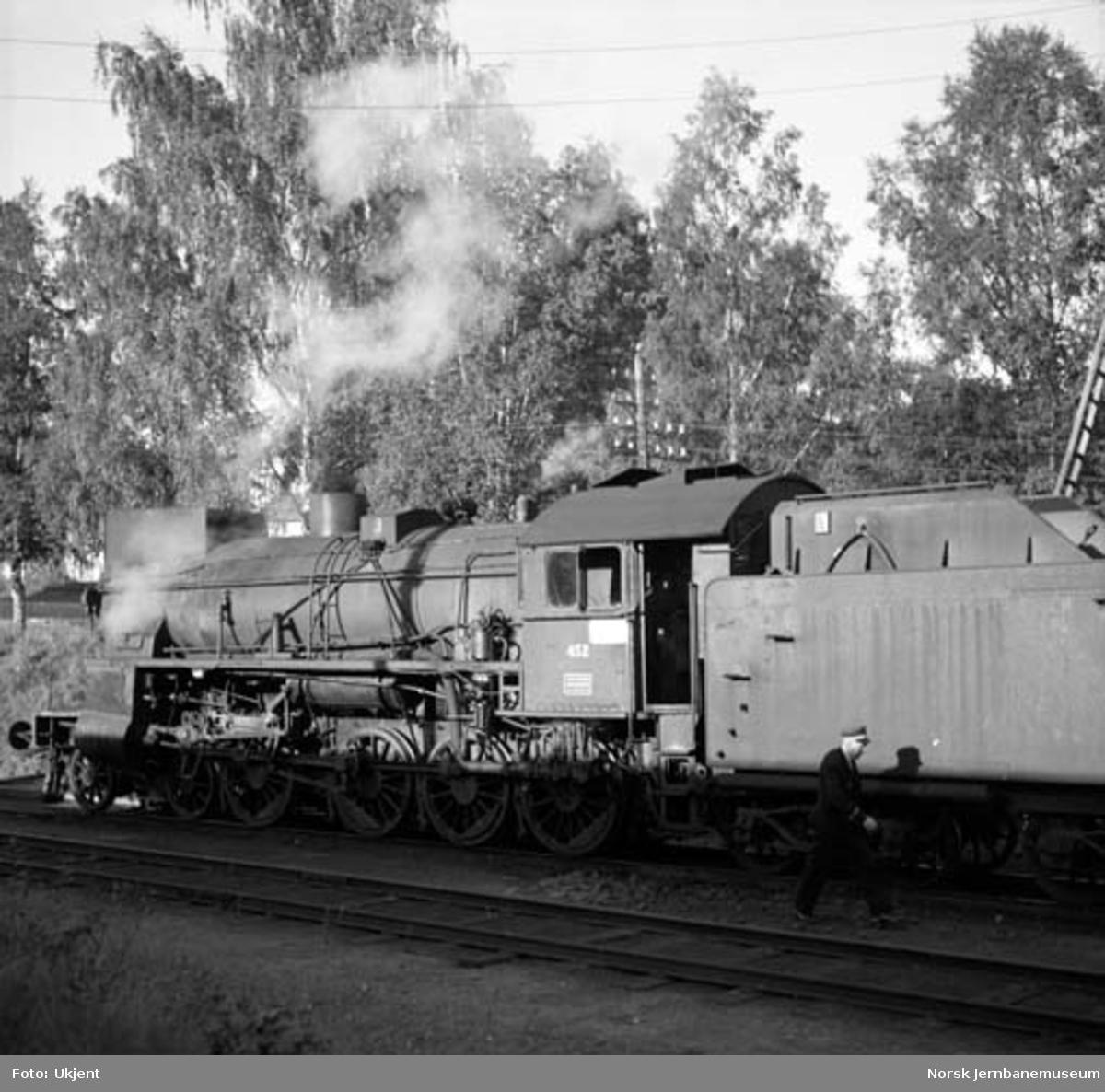 Damplokomotiv type 31b nr. 452