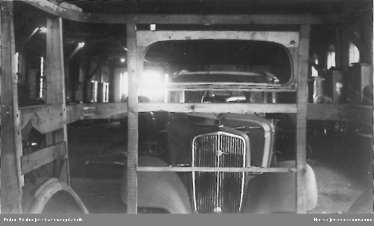 Stenderverk til drosjebil