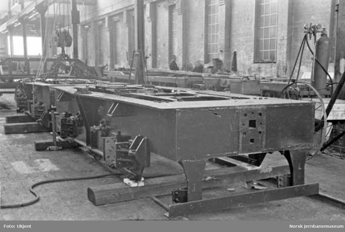 Bygging av Thamshavnbanens lokomotiv nr. 1