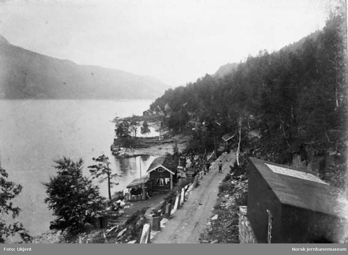 Ytre Furulund i Sulitjelma før jernbanen kom