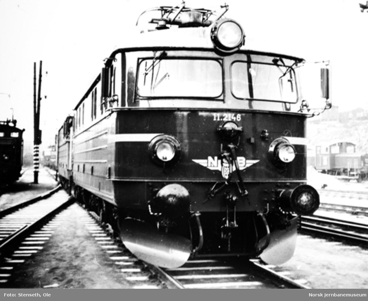 Nytt elektrisk lokomotiv type El 11 nr. 2146