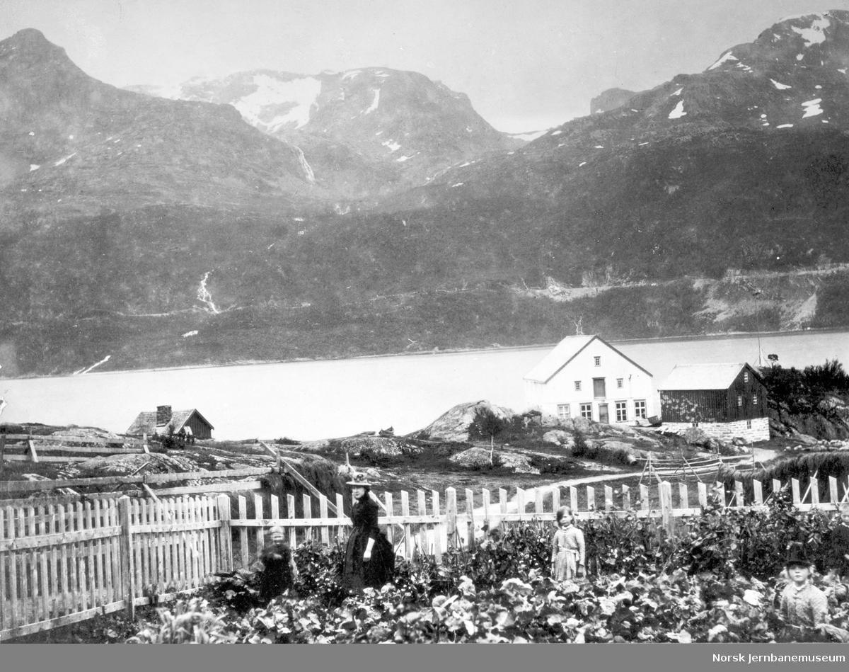 Ofotbaneanlegget sett fra Øyjord
