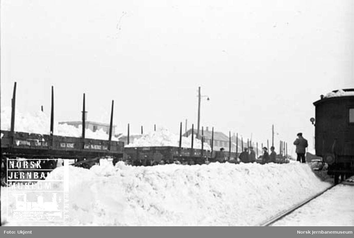 Bortkjøring av snø i stakevogner