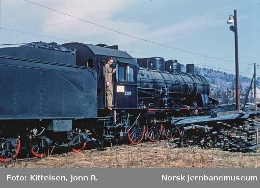 Damplokomotiv type 61a nr. 2397 etter hovedrevisjon