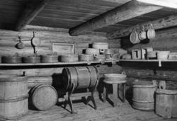 Østerdalstunet på Norsk folkemuseum, 1949. Loftbu fra Urstrø