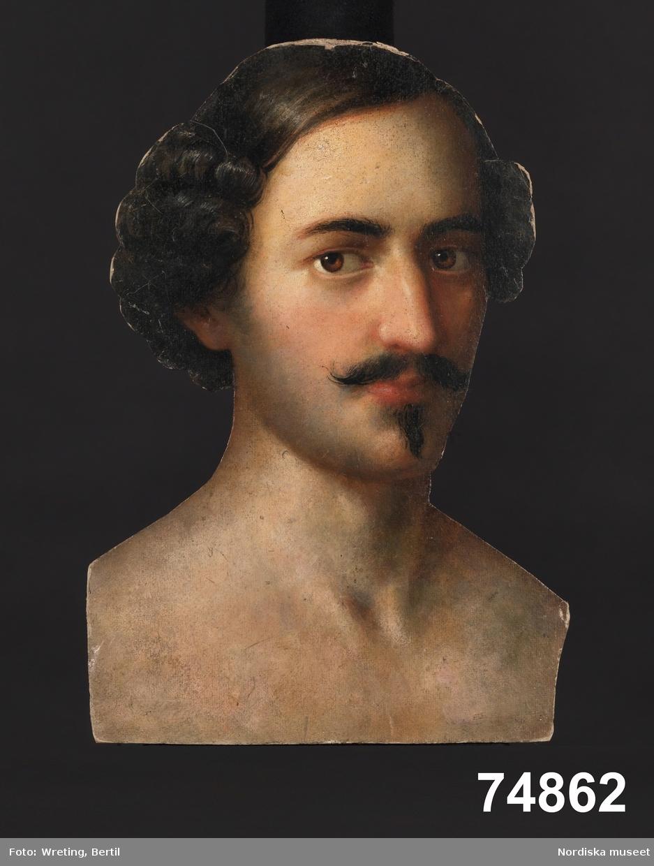 Porträtt, bröstbild man