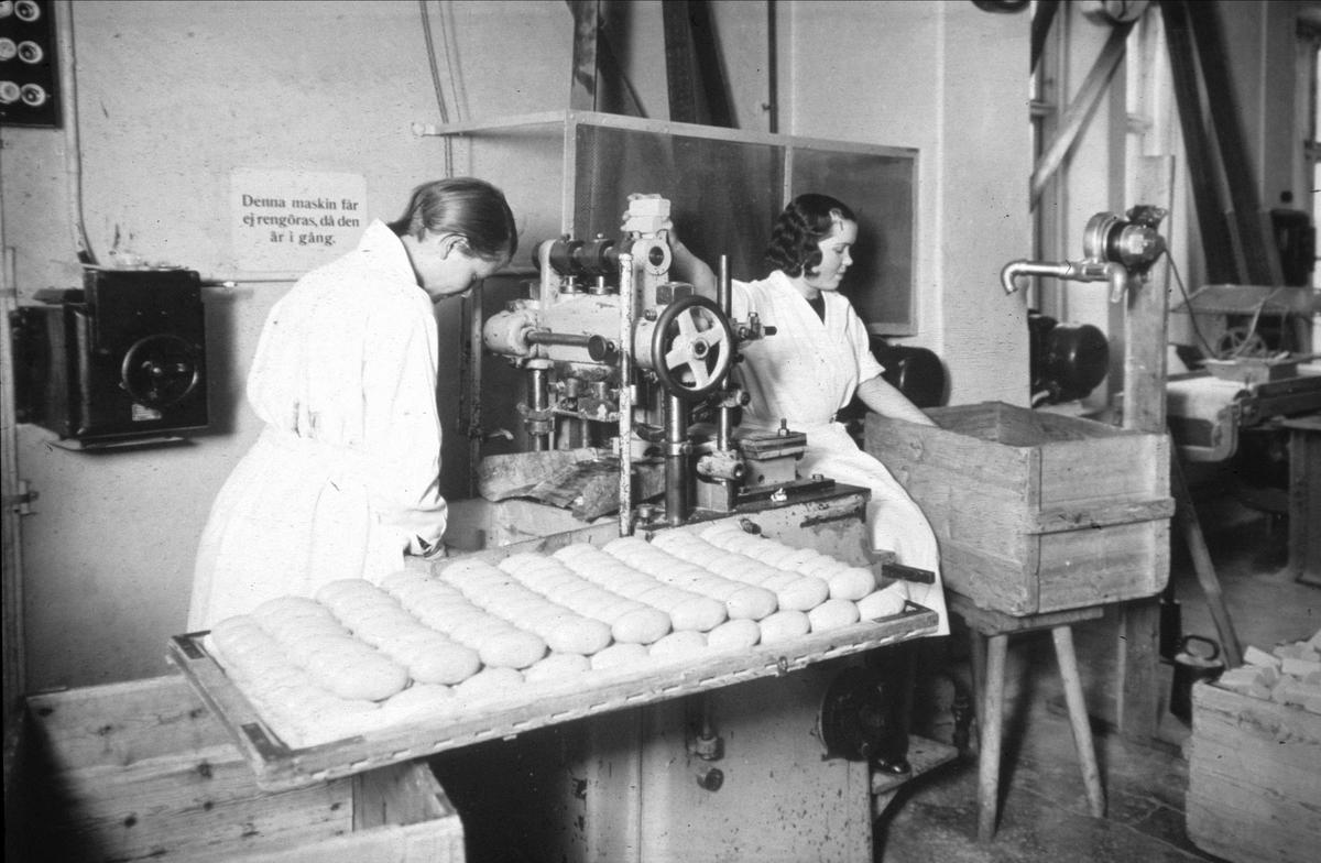 Tvåtillverkning, Henriks Gahns AB, kvarteret Gudrun, Uppsala 1940