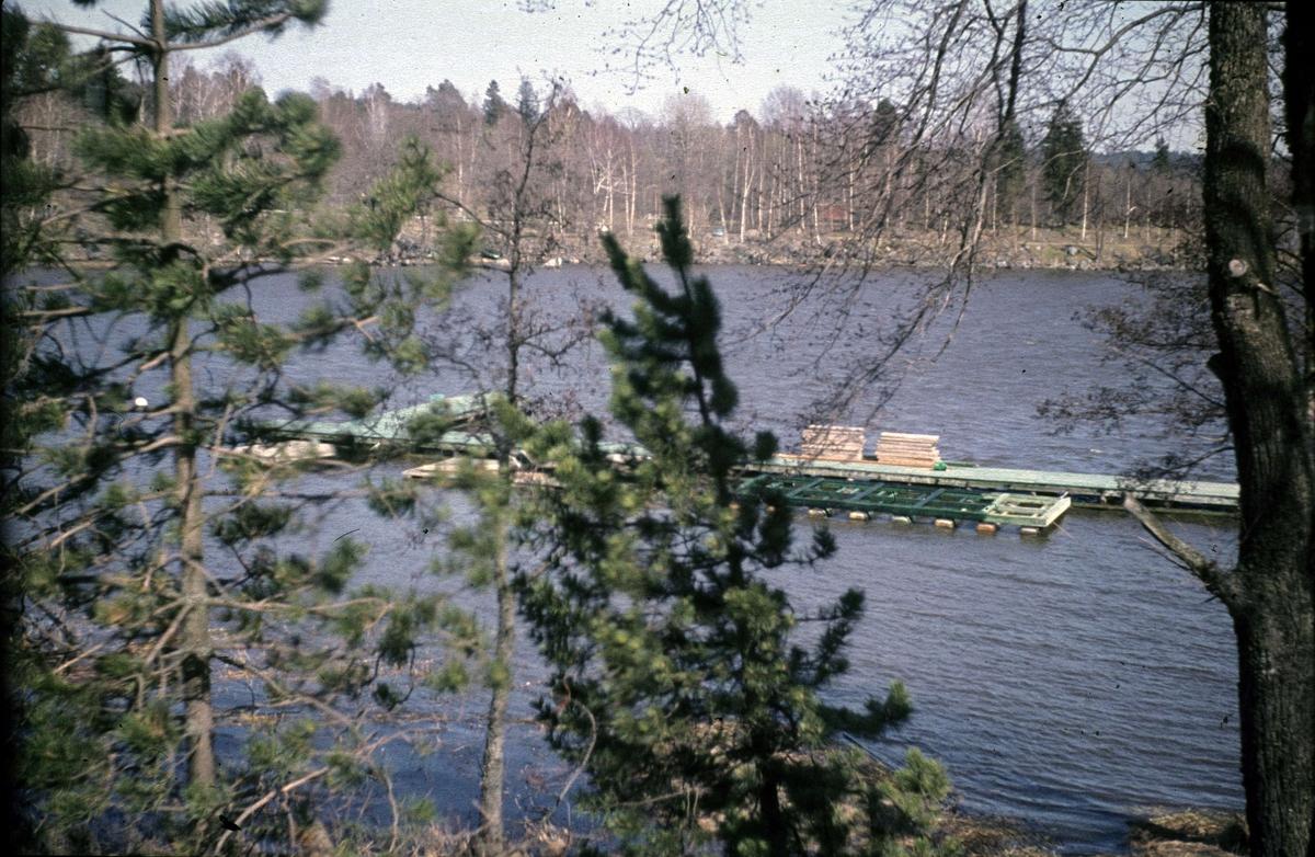 Ekoln vid Skarholmen, Sunnersta, Uppsala 1965