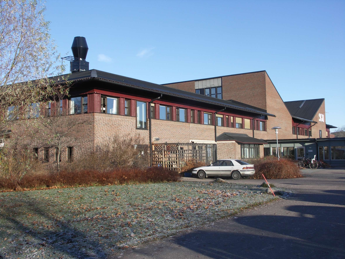 SGU:s byggnad från 1976 - 1978 i kvarteret Blåsenhus, Uppsala