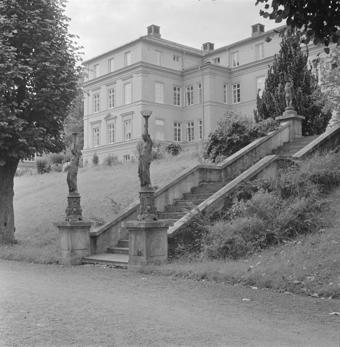 Akademiska sjukhuset, äldsta byggnaden, Uppsala 1958