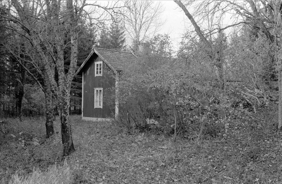 Bostadshus, Väsbymalm, Bälinge socken, Uppland 1983