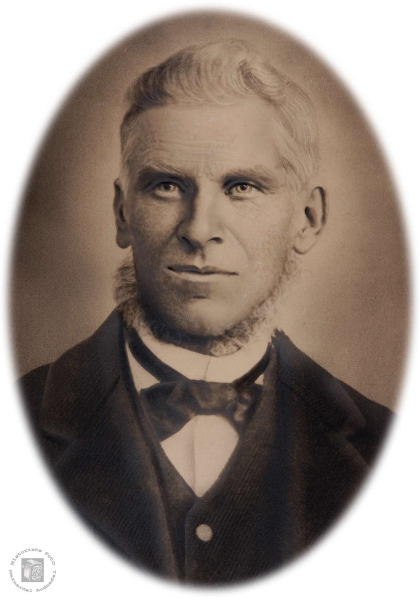 Portrett av Torkel Dalan, Grindheim.