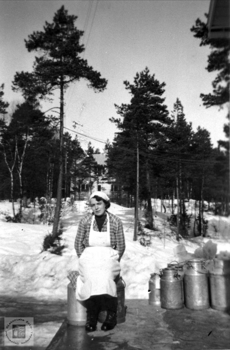 Bjelland fløtemeieri.
