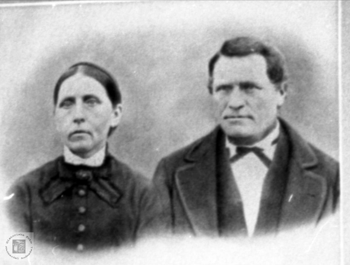 Dobbelportrett. Steivor og Bendik Løvdal.