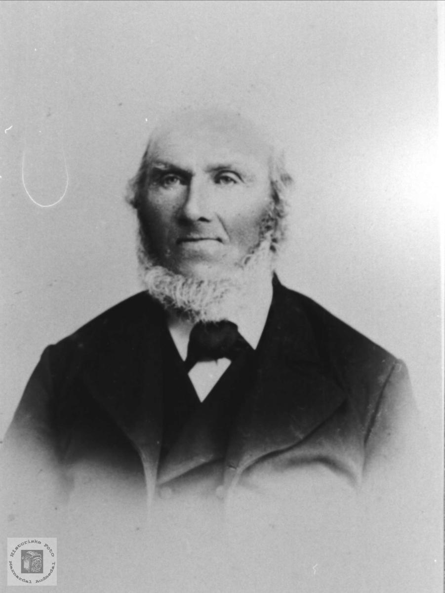 Portrett av Knud Upsaker