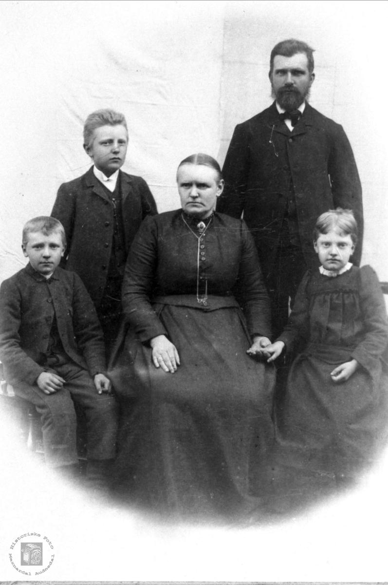 Familie trolig med tilknytning til Heddeland, Øyslebø.
