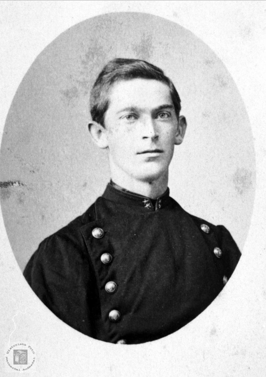Portrett av Gustav Fridjof Diesen.