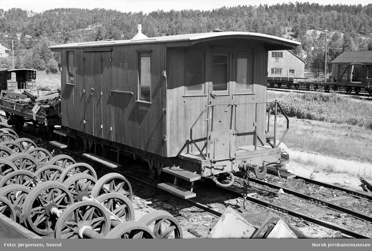 Konduktørvogn litra F nr. 102
