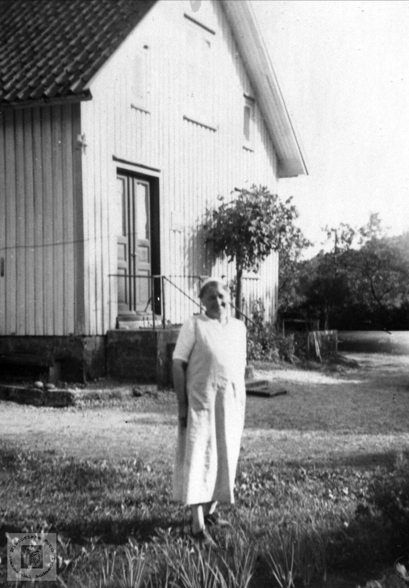 Portrett Maren Skaar, Øyslebø.