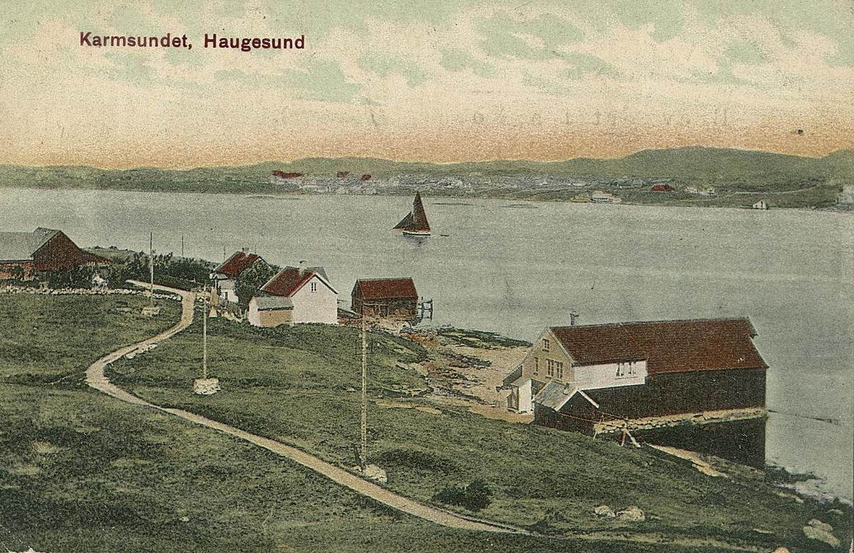 Havnemotiv - Landskap.