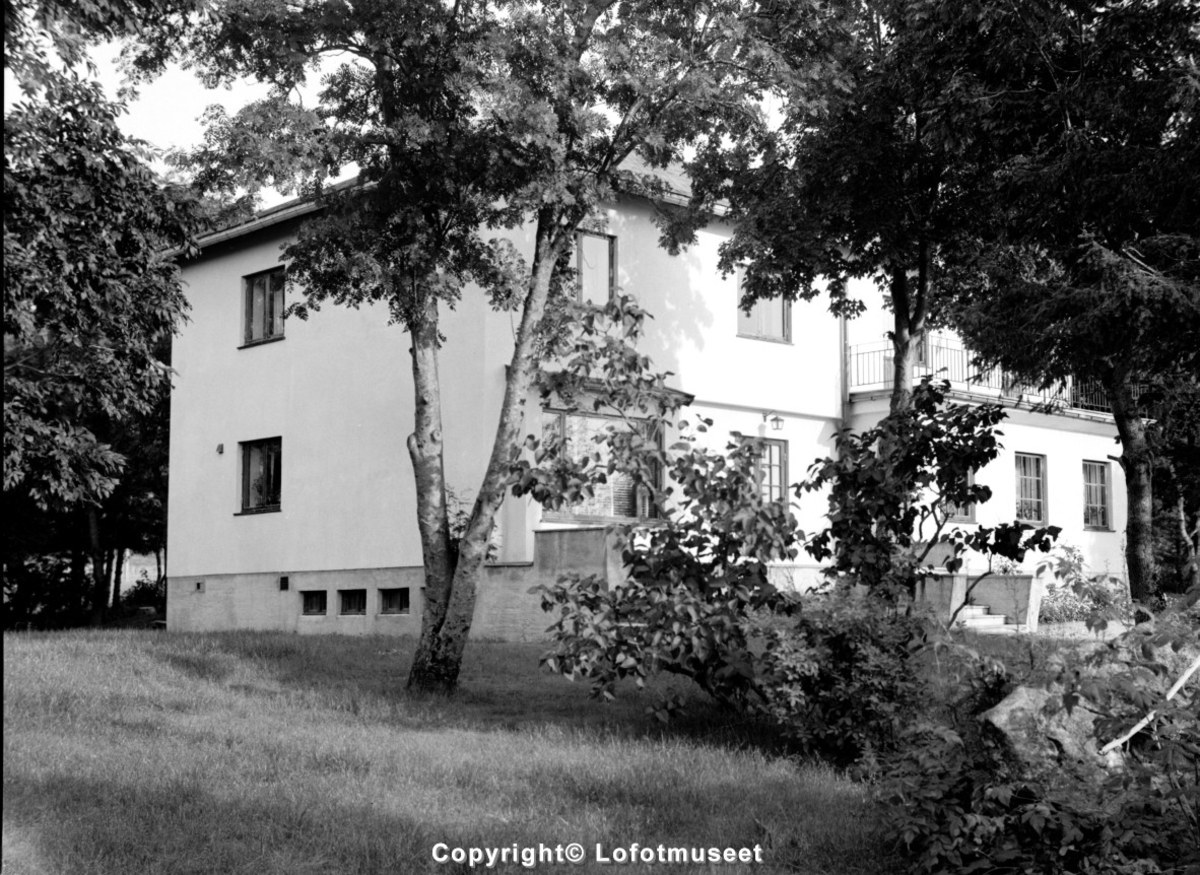 John Bergs bolig på Stranda, Svolvær.